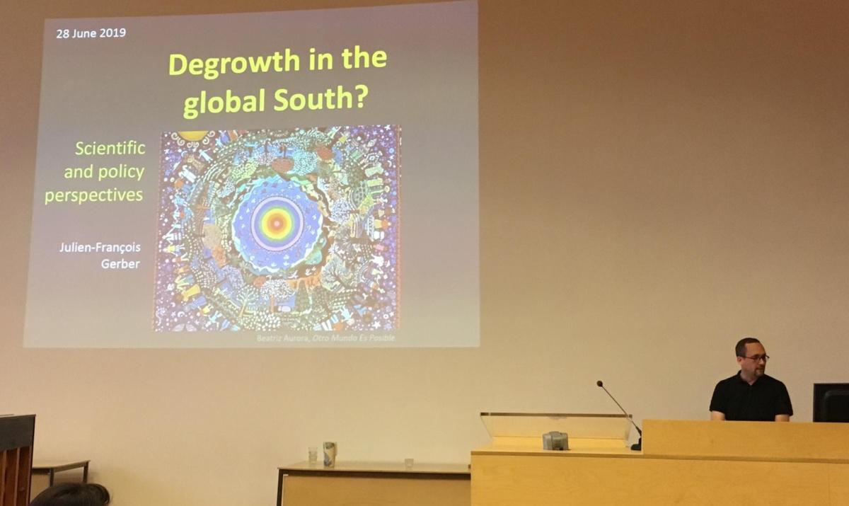 WEGO at the 1st Utrecht Degrowth Symposium