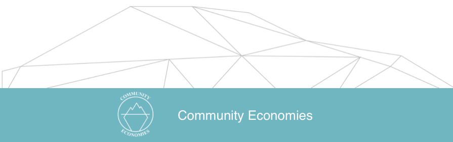 News from CERN: community economies website