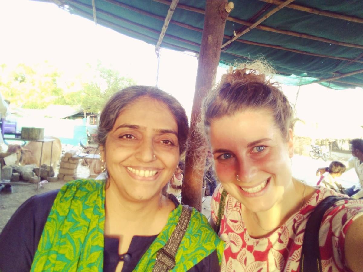 Irene Leonardelli on secondment in India