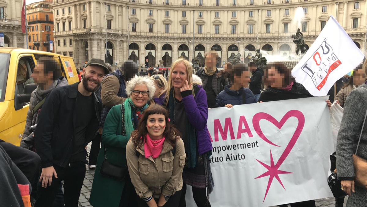 #NonUnaDiMeno – WEGO at the demonstration in Rome