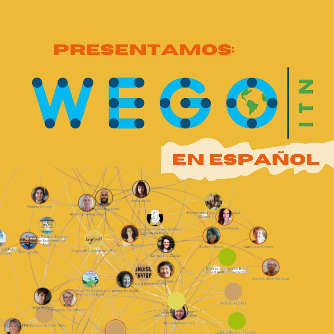 Los quince proyectos – e investigadores/as – que forman WEGO