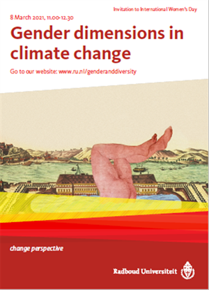 International Women's Day: 'Gender Dimensions in Climate Change' lecture