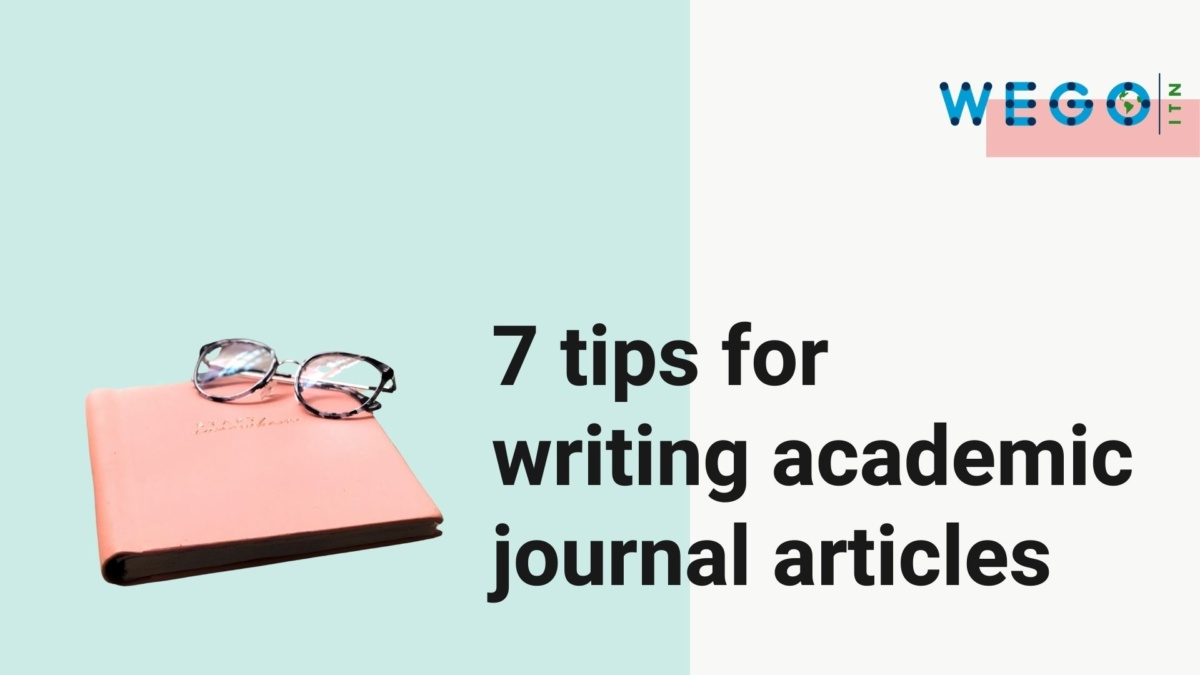 Videos: 7 tips and 6 mistakes in writing academic journal articles