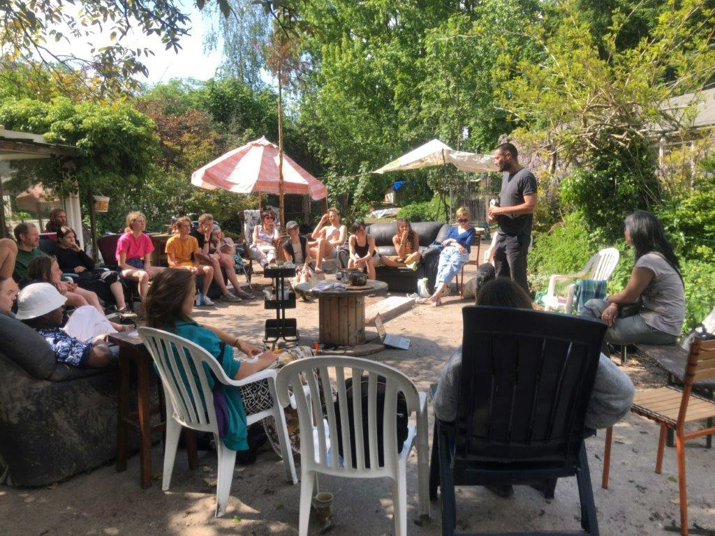 Commoning and community, a meeting in Eindhoven
